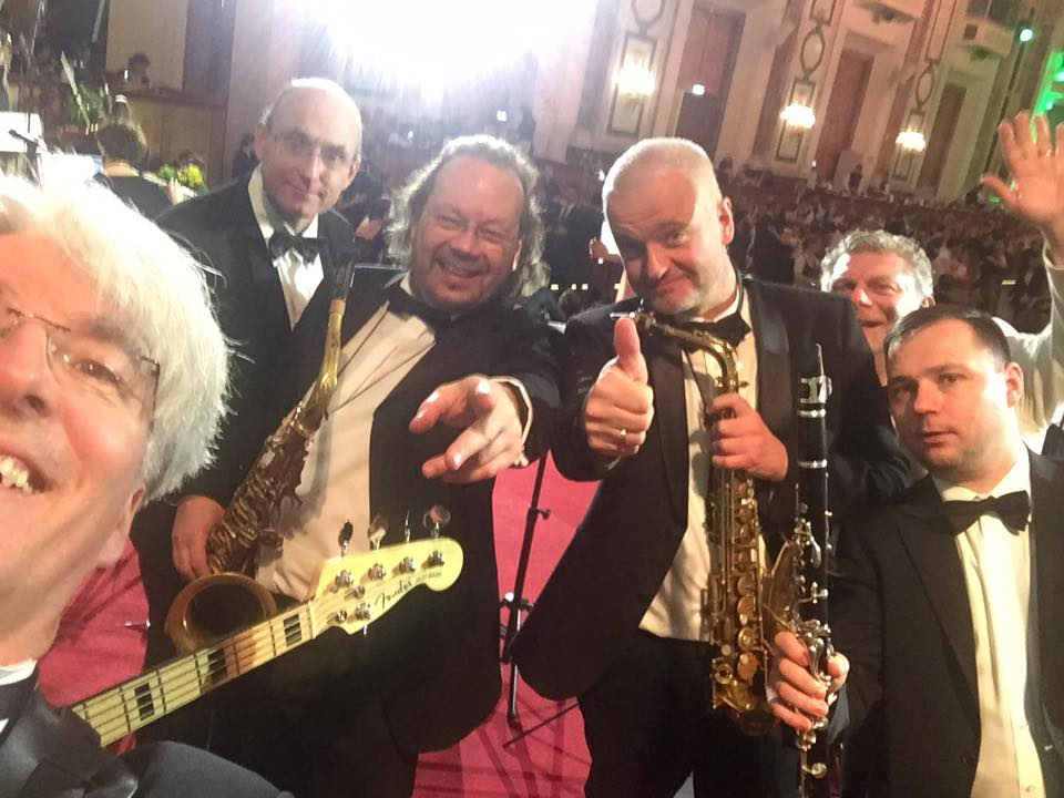 BOKU Ball 2017 mit der Roman Grinberg Ballroom Band