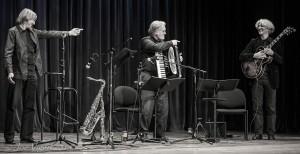 Karl Hodina, Sigi Finkl und Vlado Blum