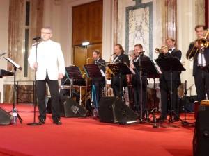 Moskauerball 2014, Hofburg - Roman Grinberg Ballroom Band mit Vlado Blum